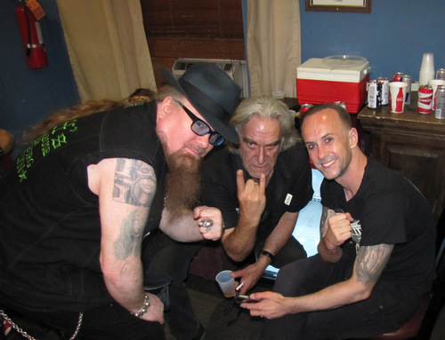 Duff, Les Barany, and Nergal